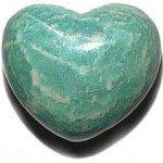 Amazonite coeur