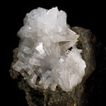Natrolite cristaux