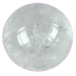 Cristal de roche boule