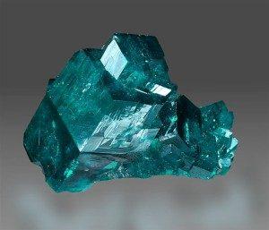 Dioptase cristaux