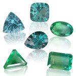 Fluorites bleues et vertes