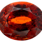 Hessonite rouge