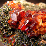 Hessonite cristaux