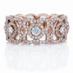 Enchanted lotus bague