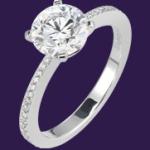 solitaire bague diamant