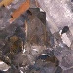 Célestite cristaux
