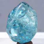 Zircon bleu naturel