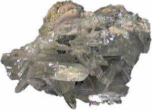 Cérusite cristaux