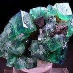 Fluorite cristaux verts