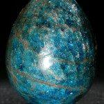 Apatite bleue oeuf