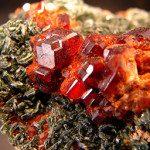 Hessonite cristaux
