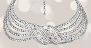 Collier Adler diamant