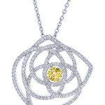 Enchanted lotus pendentif