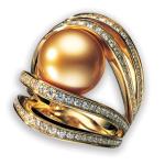 Perle dorée